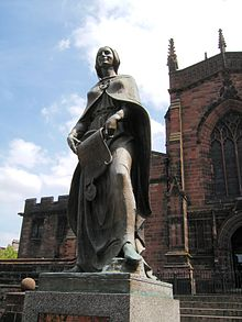 Lady Wulfruna, St Peter's church, Wolverhampton